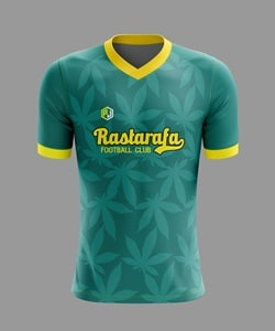 jersey bola hijau
