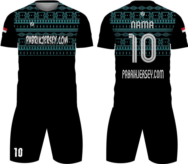 desain baju futsal batik