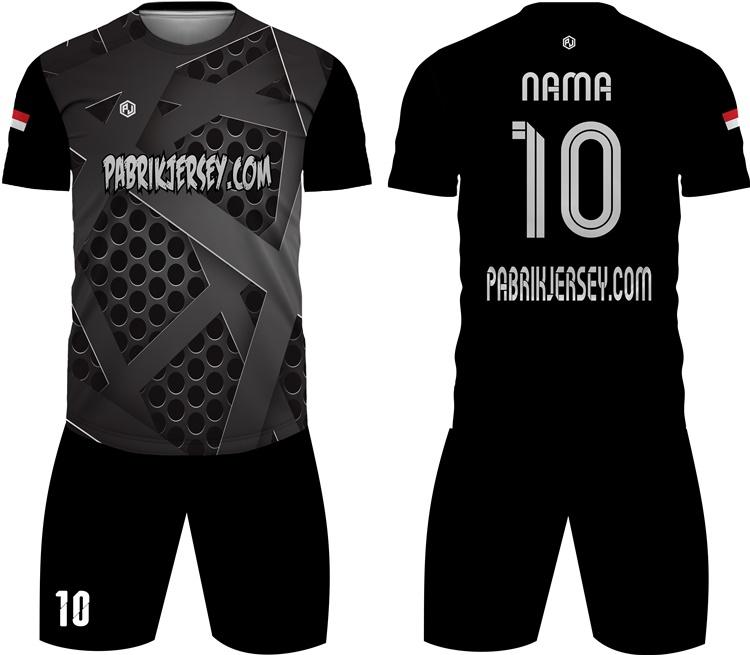 desain baju futsal hitam
